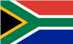 South Africa Boat / Courtesy Country Flag.